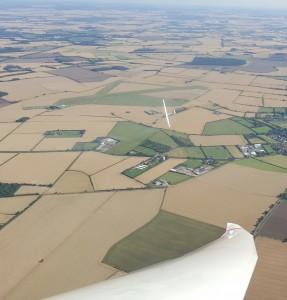 Soaring over Cambridge Gliding Centre