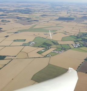 Soaring over Cambridge Gliding Centre