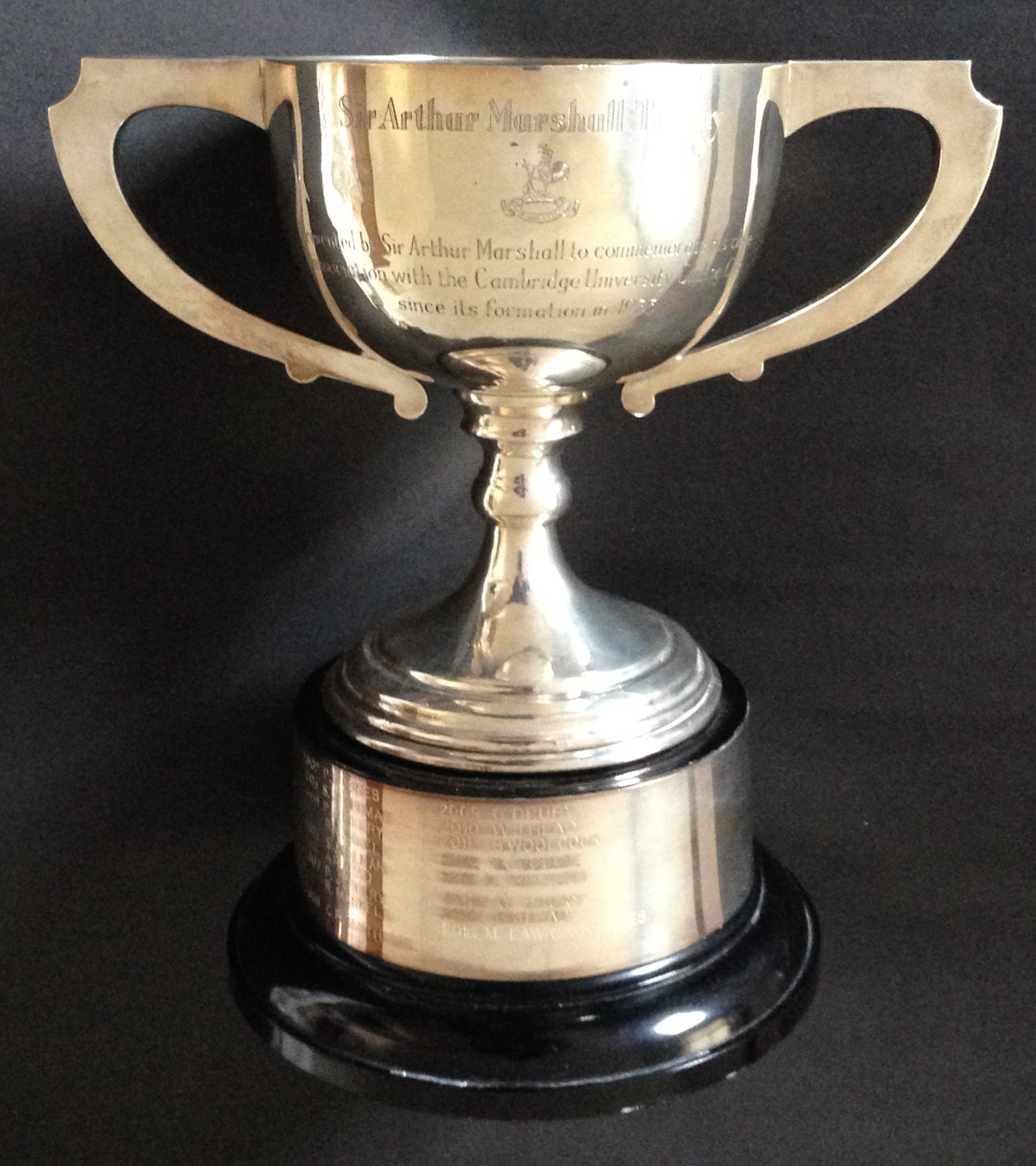 Sir Arthur Marshall Trophy